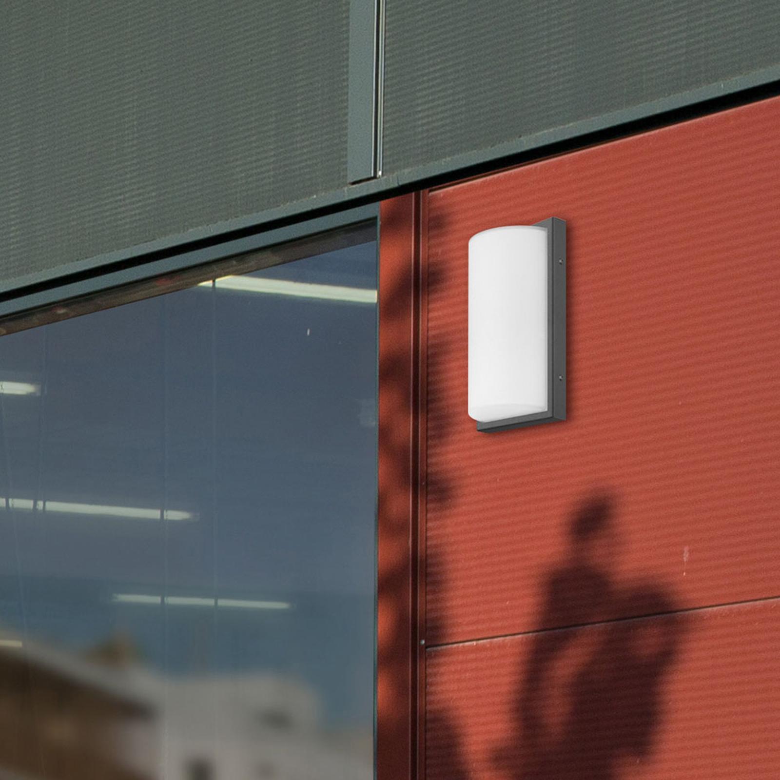 Applique d'extérieur LED 039 acier inox, graphite