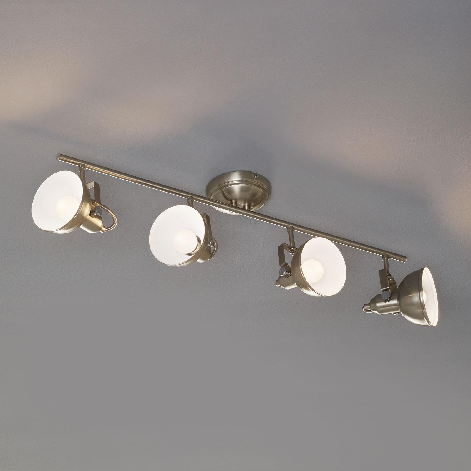 4-pkt. lampa sufitowa GINA w stylu industrialnym