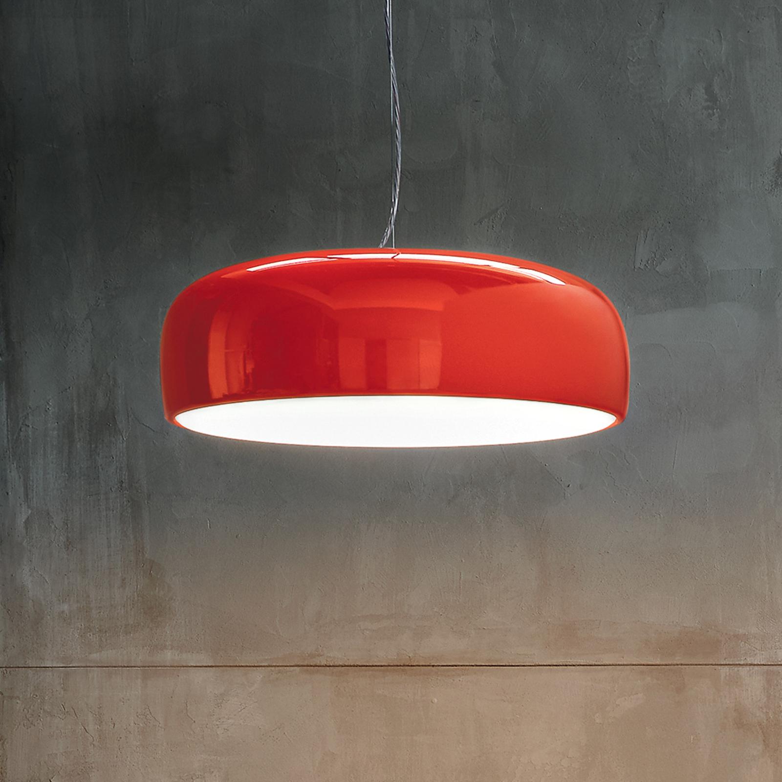 FLOS Smithfield S LED-Hängeleuchte in Rot