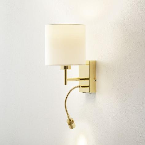 MAINZ LED-vegglampe med fleksibel arm