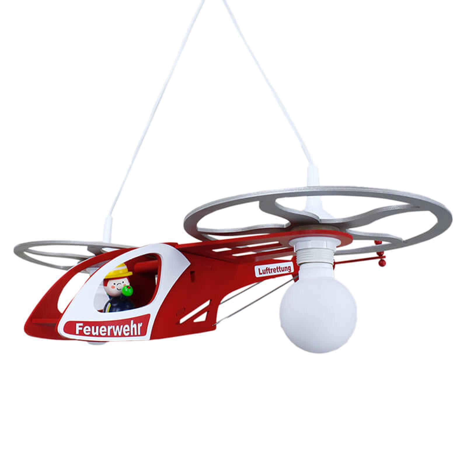 Dětské závěsné světlo Helikoptéra Fred