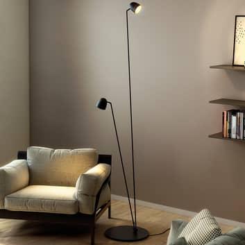 Flexibelt justerbar LED-golvlampa Speers F