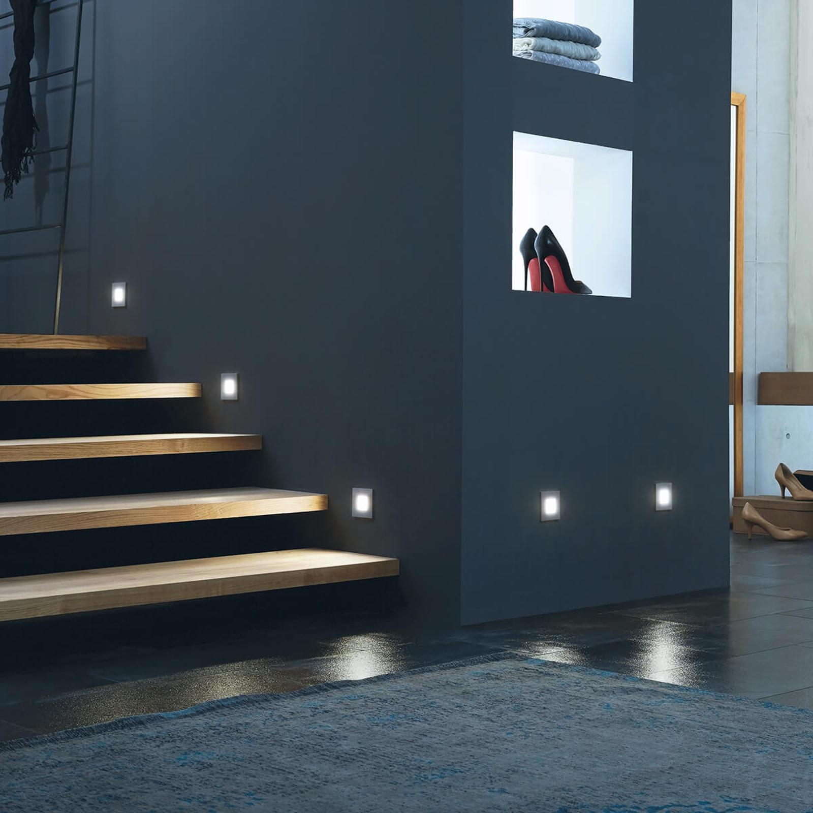 Produktové foto HERA LED nástěnné vestavné svítidlo Wall F 0,9W