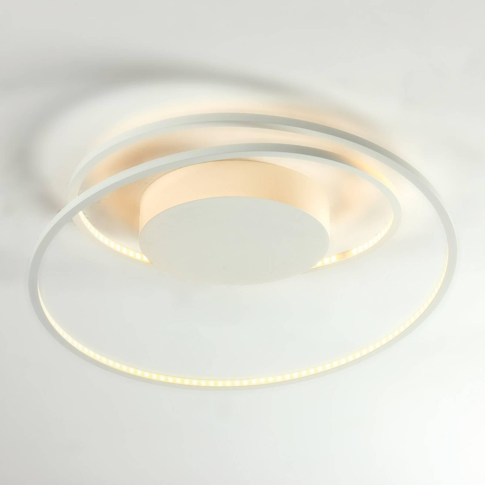 At - wyjątkowa lampa sufitowa LED, biała