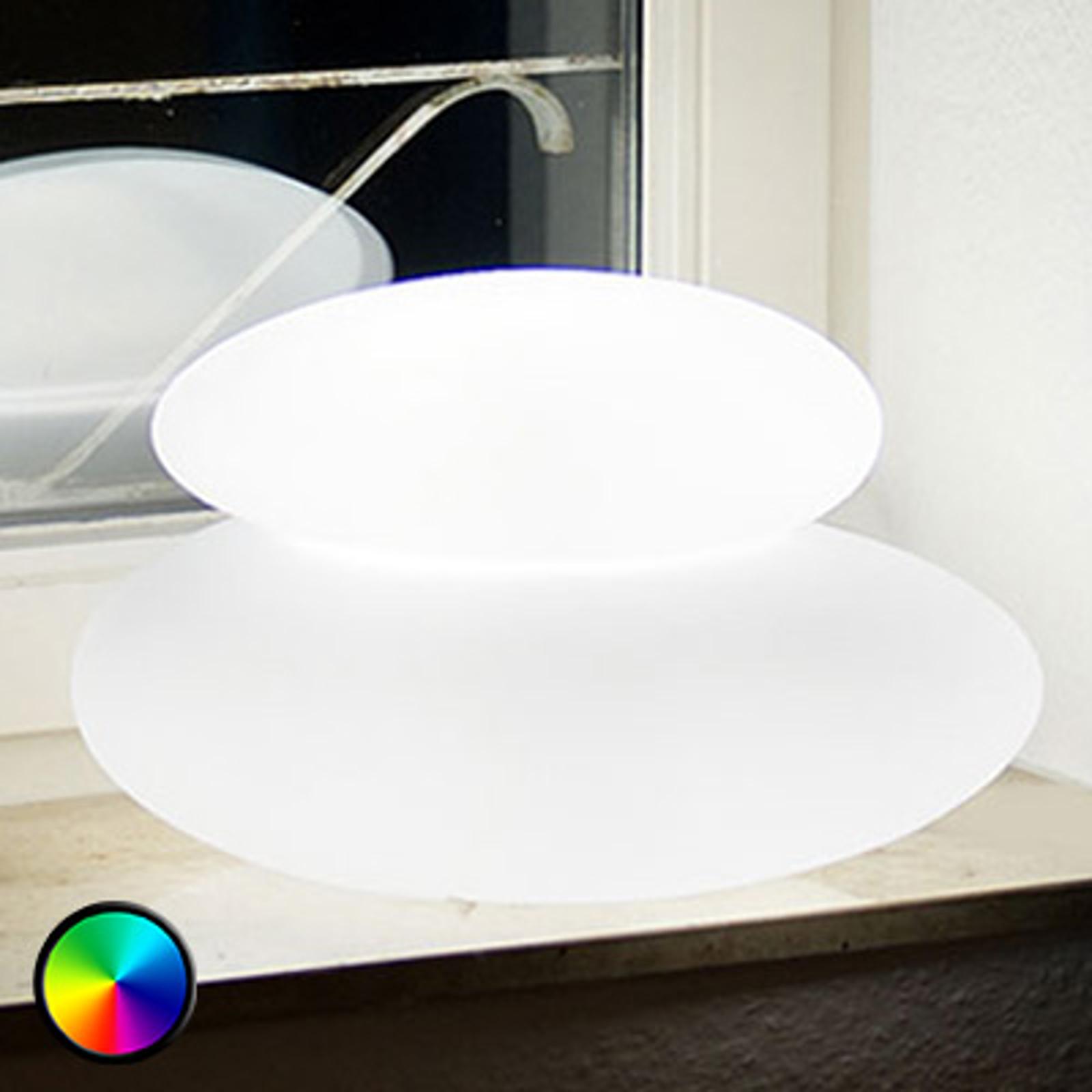 Lampe décorative extérieur LED-Adeko Shining Stone