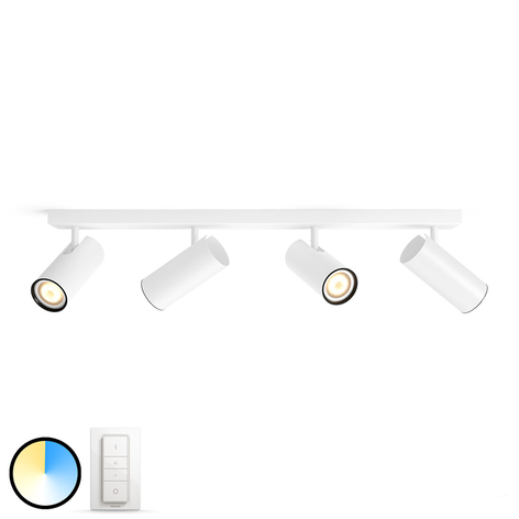 Philips Hue Buratto spot LED 4 l. variateur blanc
