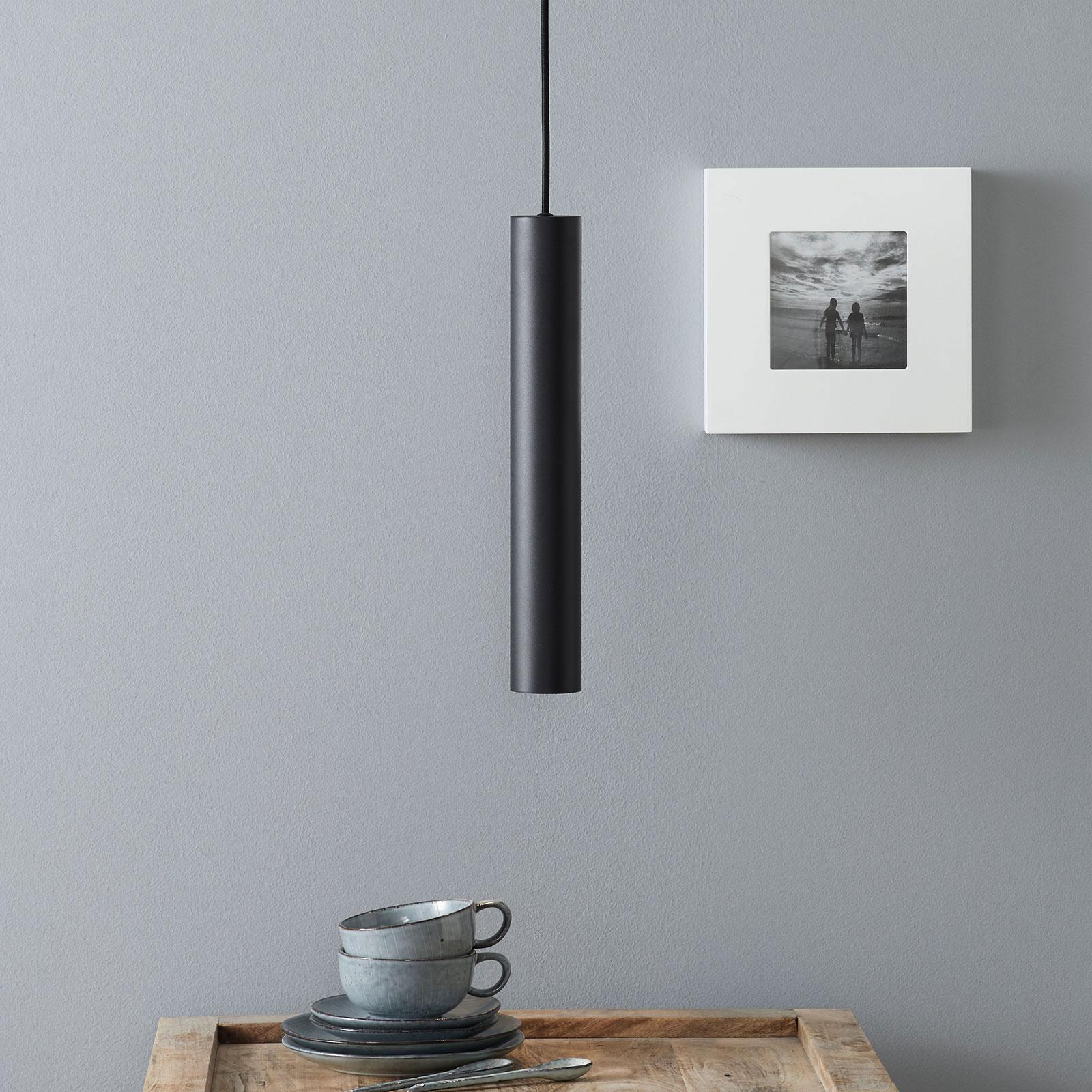 Produktové foto Ideallux Look, závěsné, černé, podlouhlý tvar