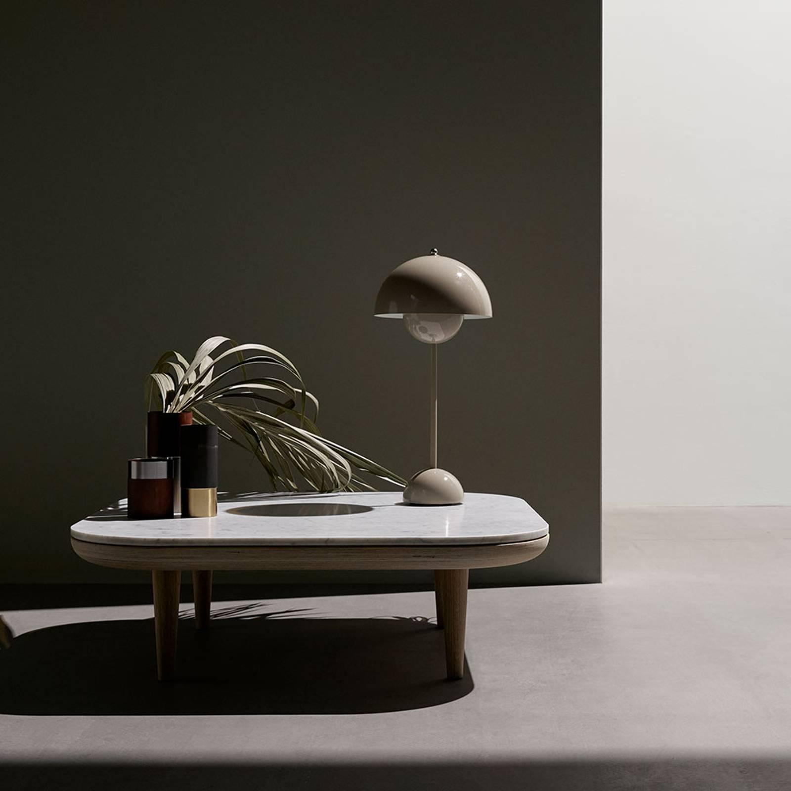 &Tradition Flowerpot VP3 tavolo, grigio-beige