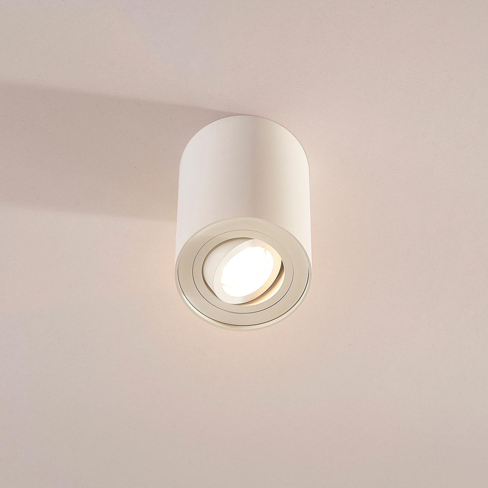 Jolina - lampada da soffitto bianca a faretto