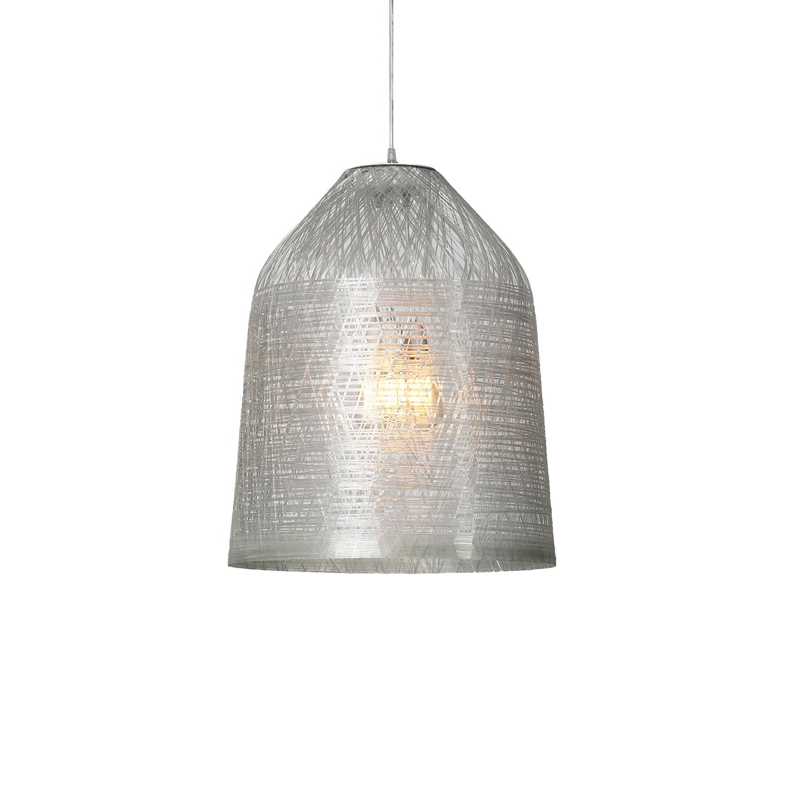 Karman Black Out udendørs hængelampe, Ø 35cm, klar