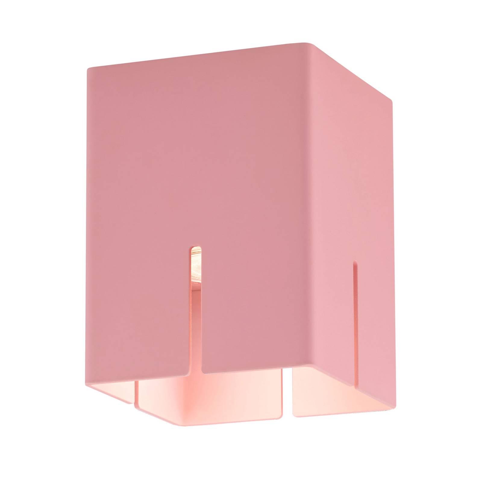 Baulmann 83.201 Deckenleuchte, rosa, Höhe 16 cm