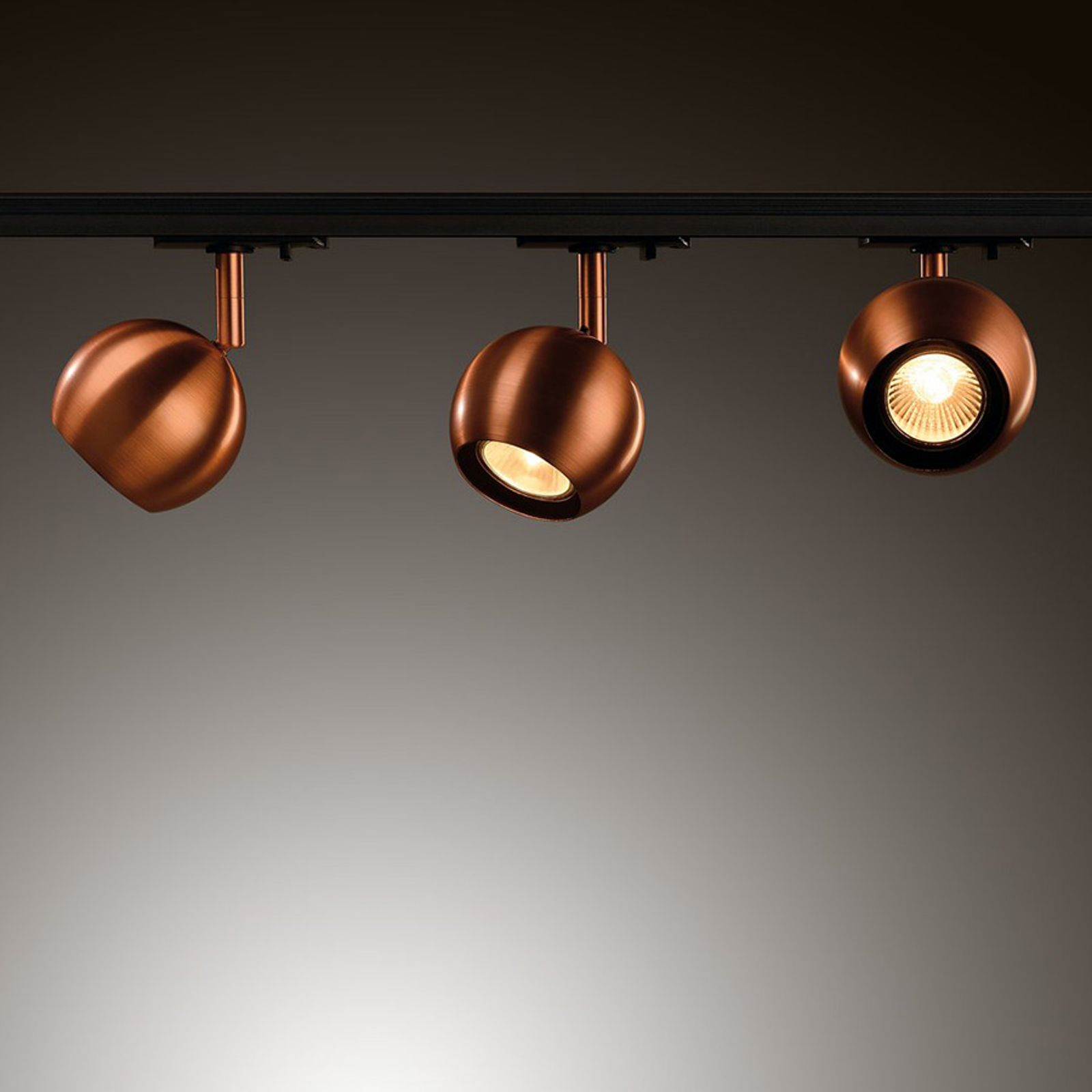 SLV Light Eye Ball hengelampe, kobber | Lampegiganten.no