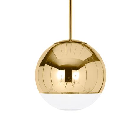 Glänsande gyllene hänglampa Mirror Ball