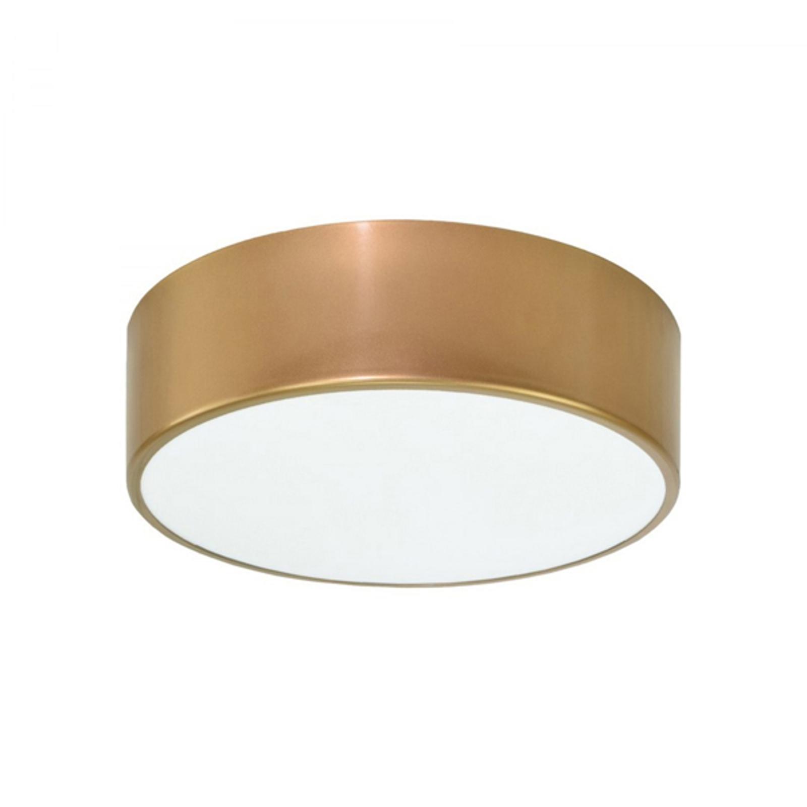 Taklampe Cleo Ø 20 cm, gull