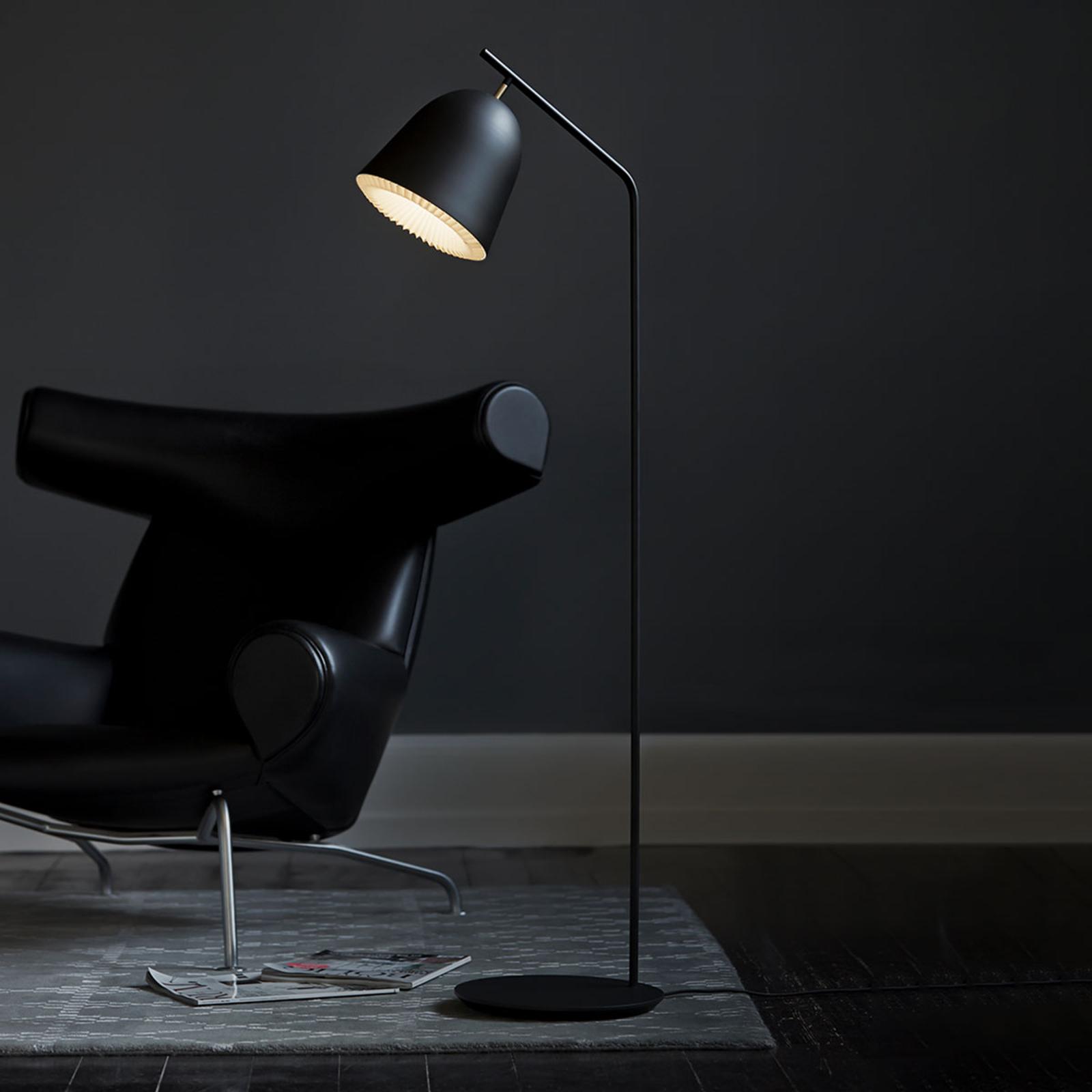 LE KLINT Caché - designová stojací lampa, černá