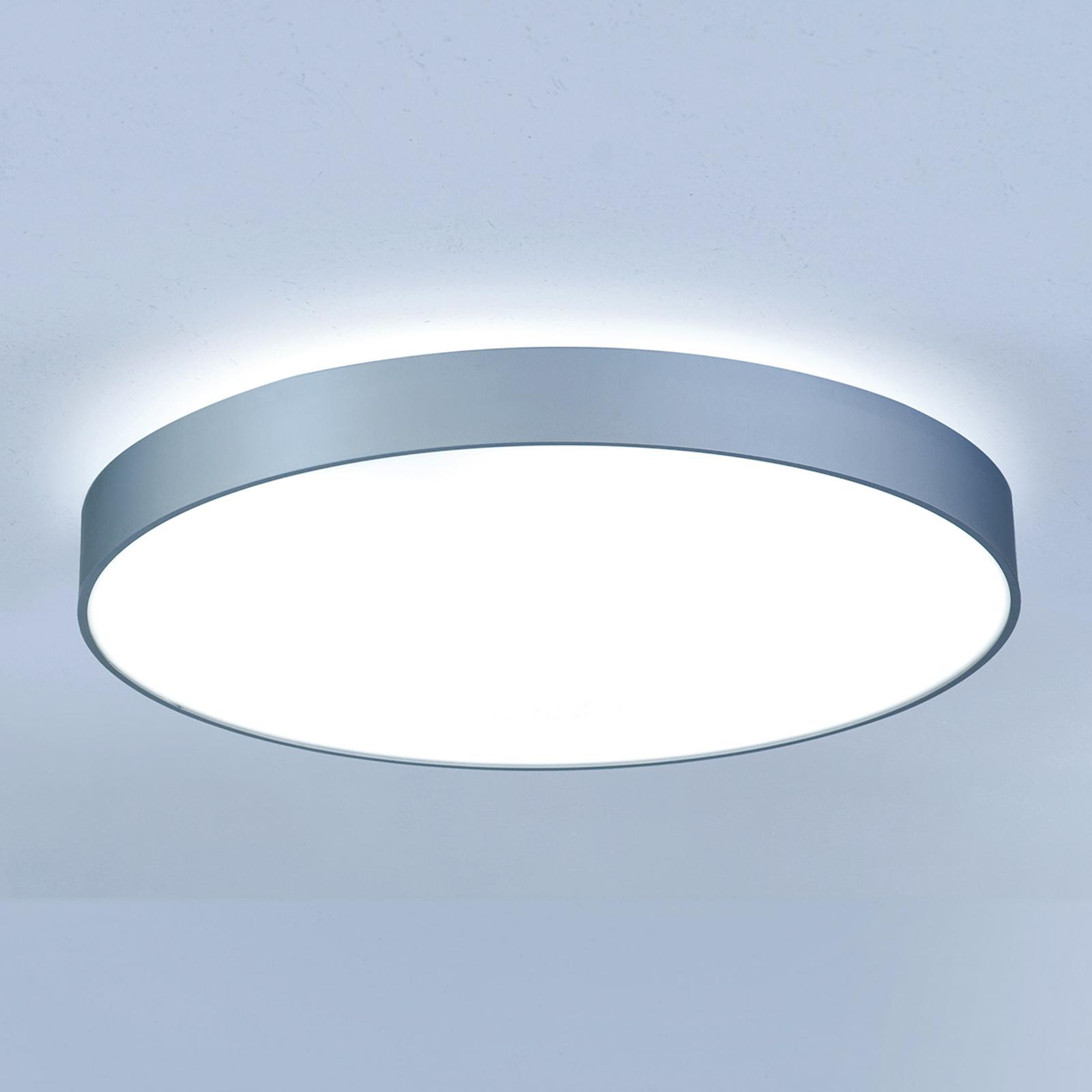 Stralende Led-plafondlamp Basic-X1 50 cm