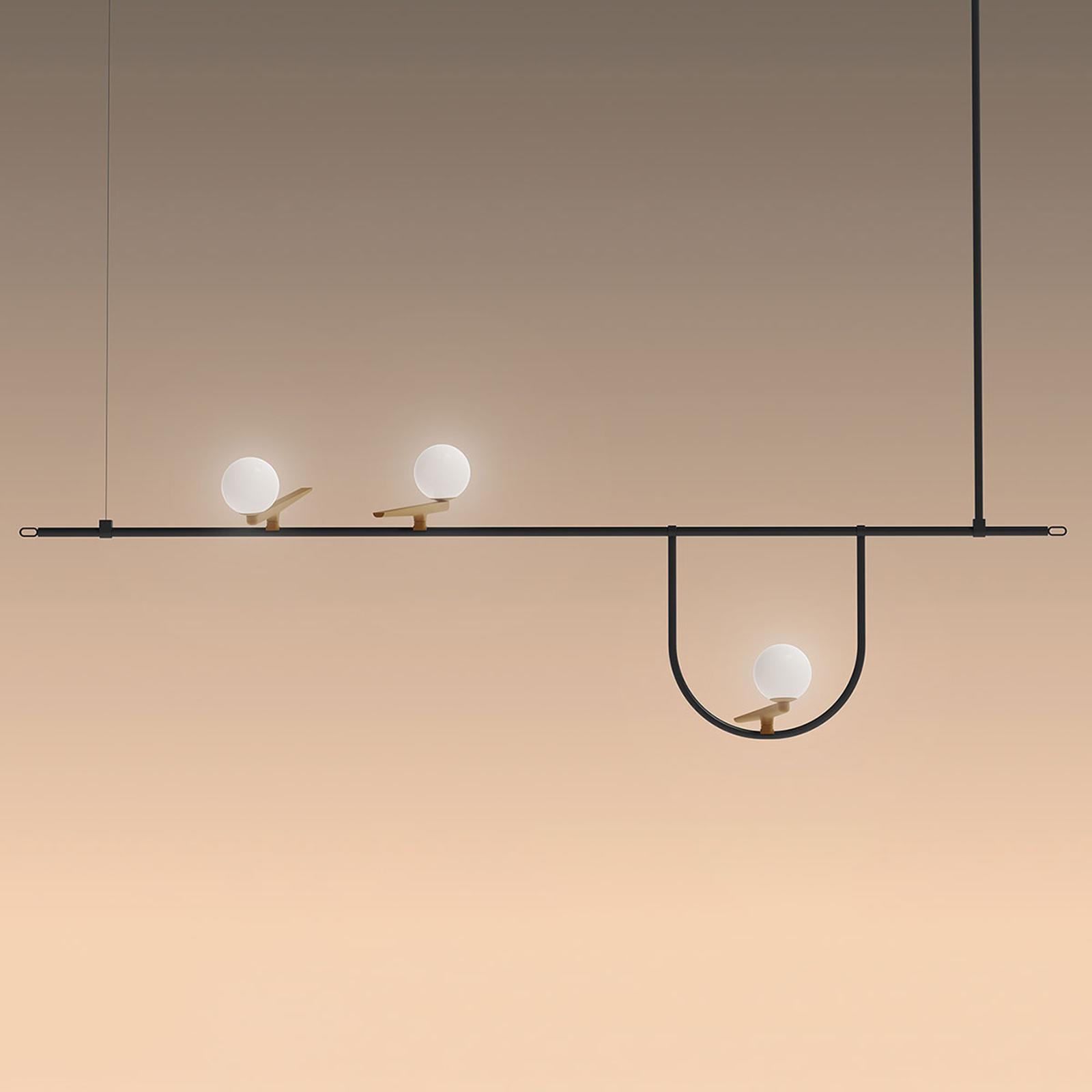 Artemide Yanzi LED-Pendelleuchte push dim
