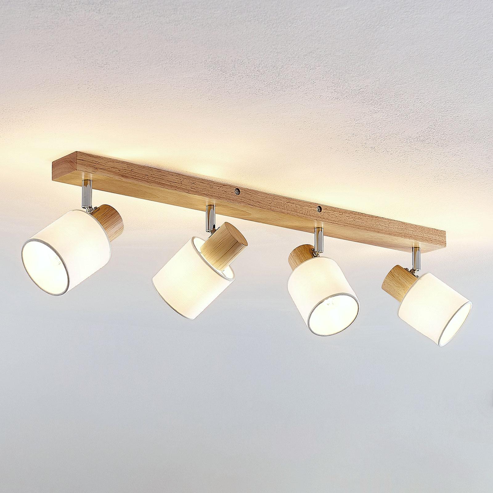 Lindby Wanessa spot da soffitto a 4 luci