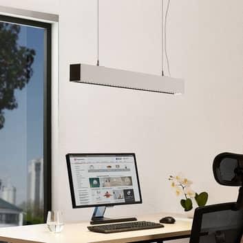 Arcchio Thores biurowa lampa wisząca, 85 cm biała