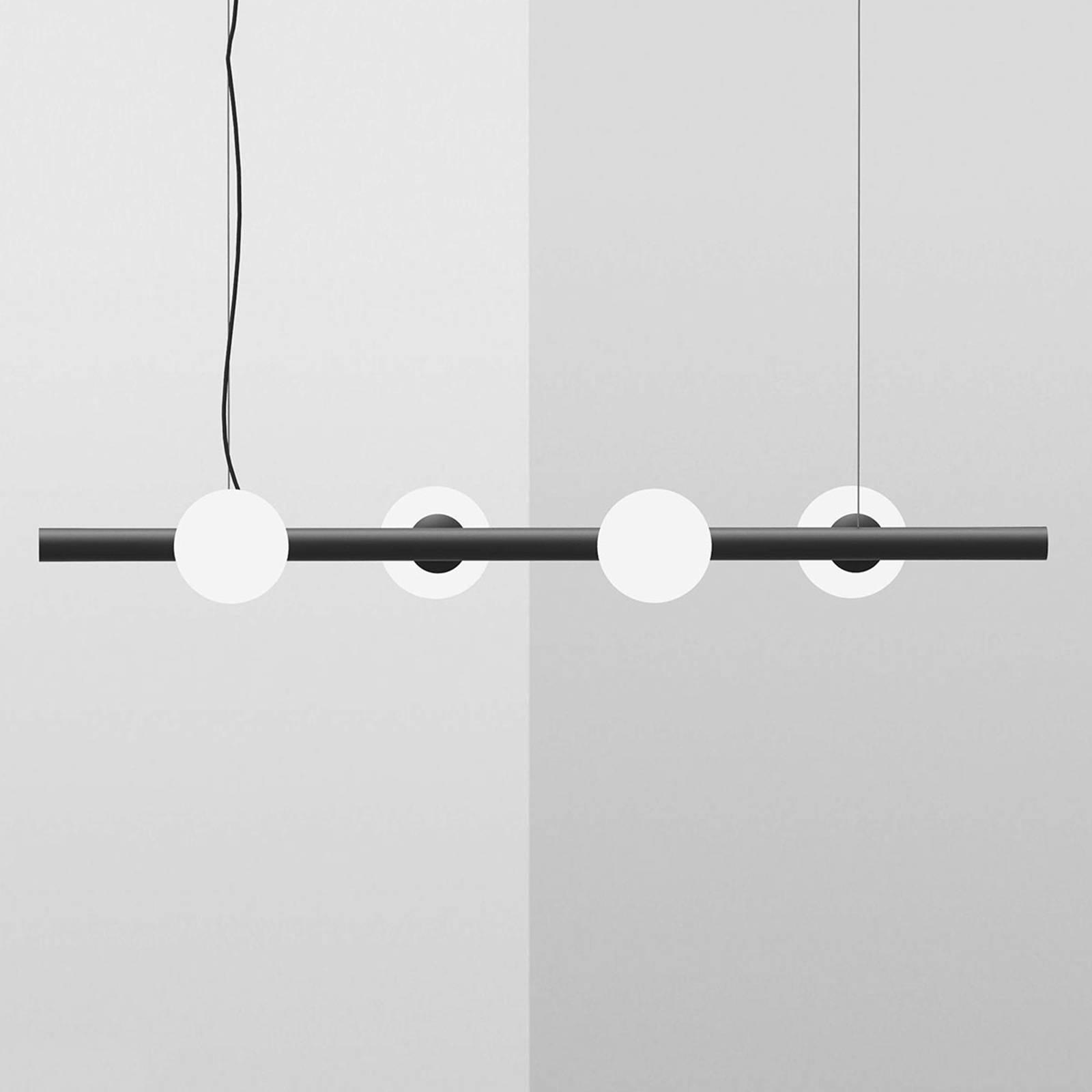 Lampa wisząca Tin Tin 4-punktowa czarna
