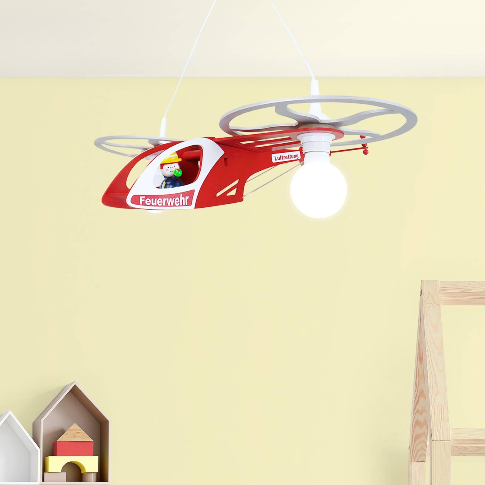 Suspension hélicoptère Fred pour chambre d'enfant