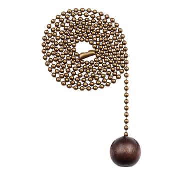 Westinghouse kulka z orzecha – łańcuch, mosiądz
