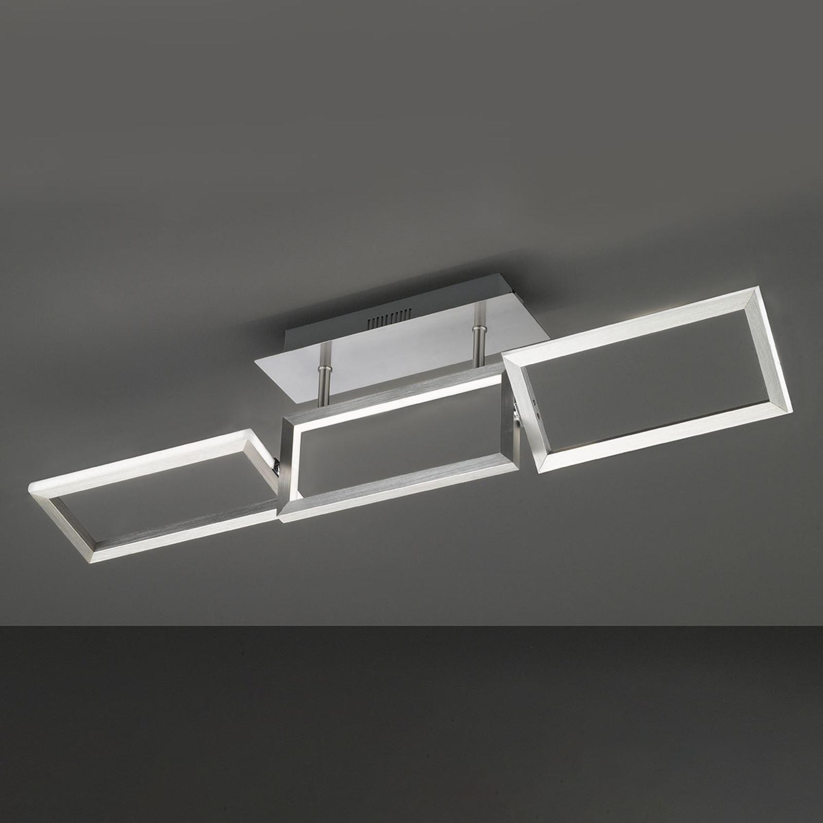 Skip LED-loftlampe, justerbar, længde 81,5 cm