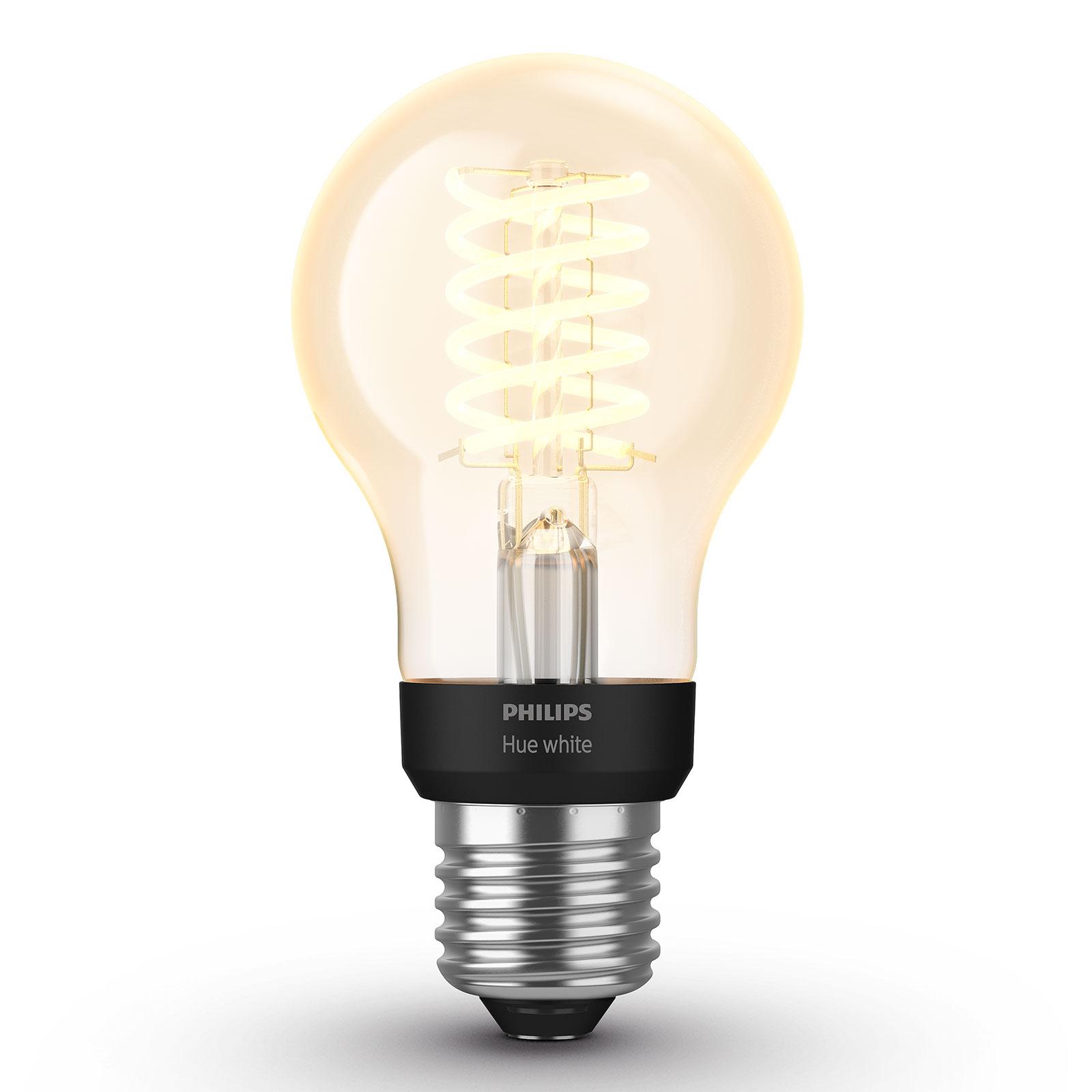 Philips Hue White 7 W E27 filamentlampa Classic