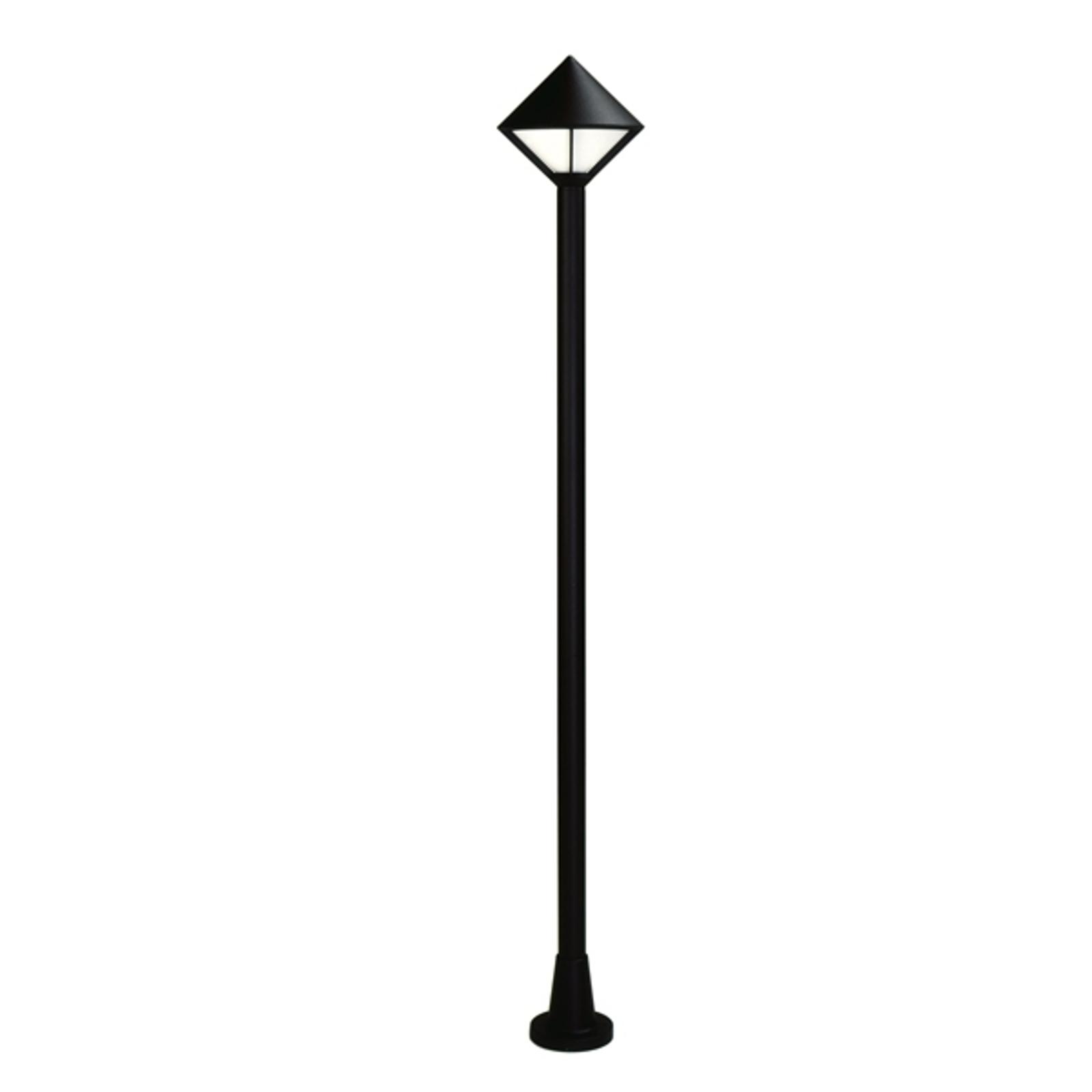 Moderní stožárové svítidlo 179, černá