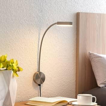 Flexarm-LED-Wandlampe Samari mit Sensor