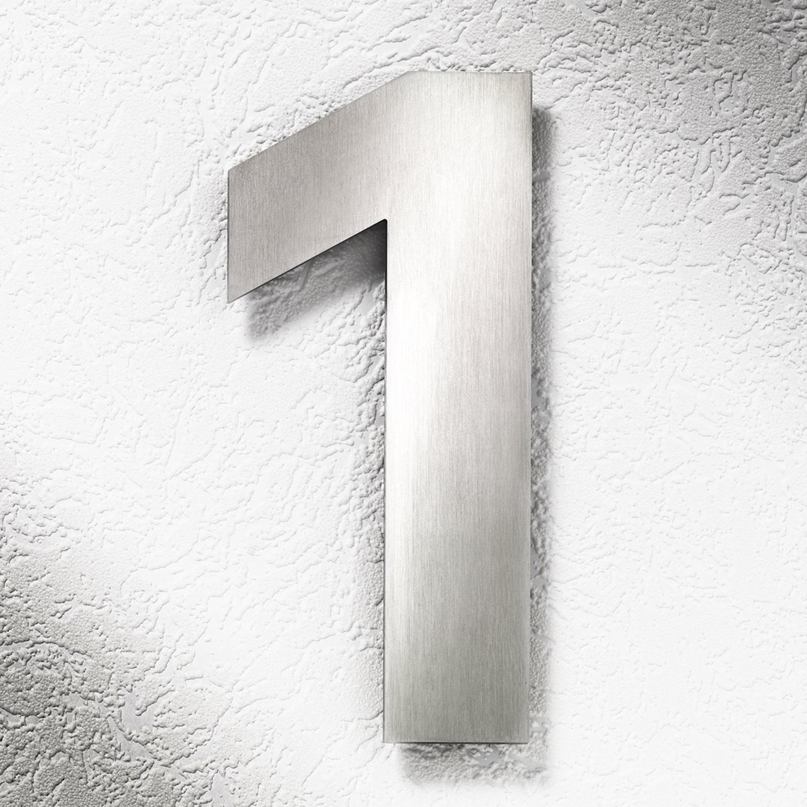 Numeri civici in acciaio inox grandi 1