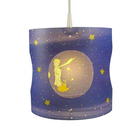Kinderkamer hanglamp Prins, draaiend