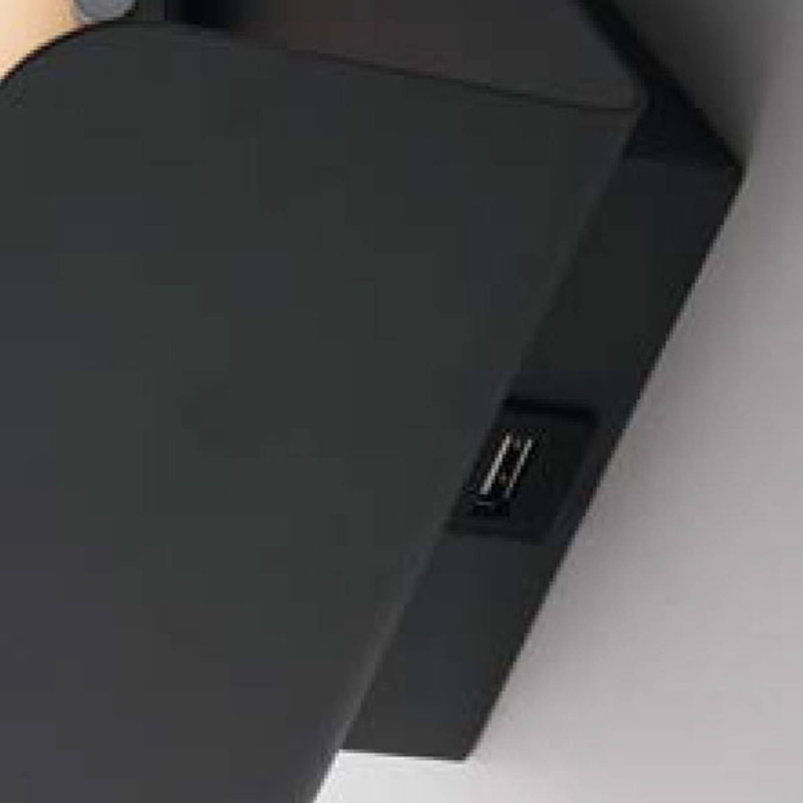 LED-Wandleuchte Boing schwarz
