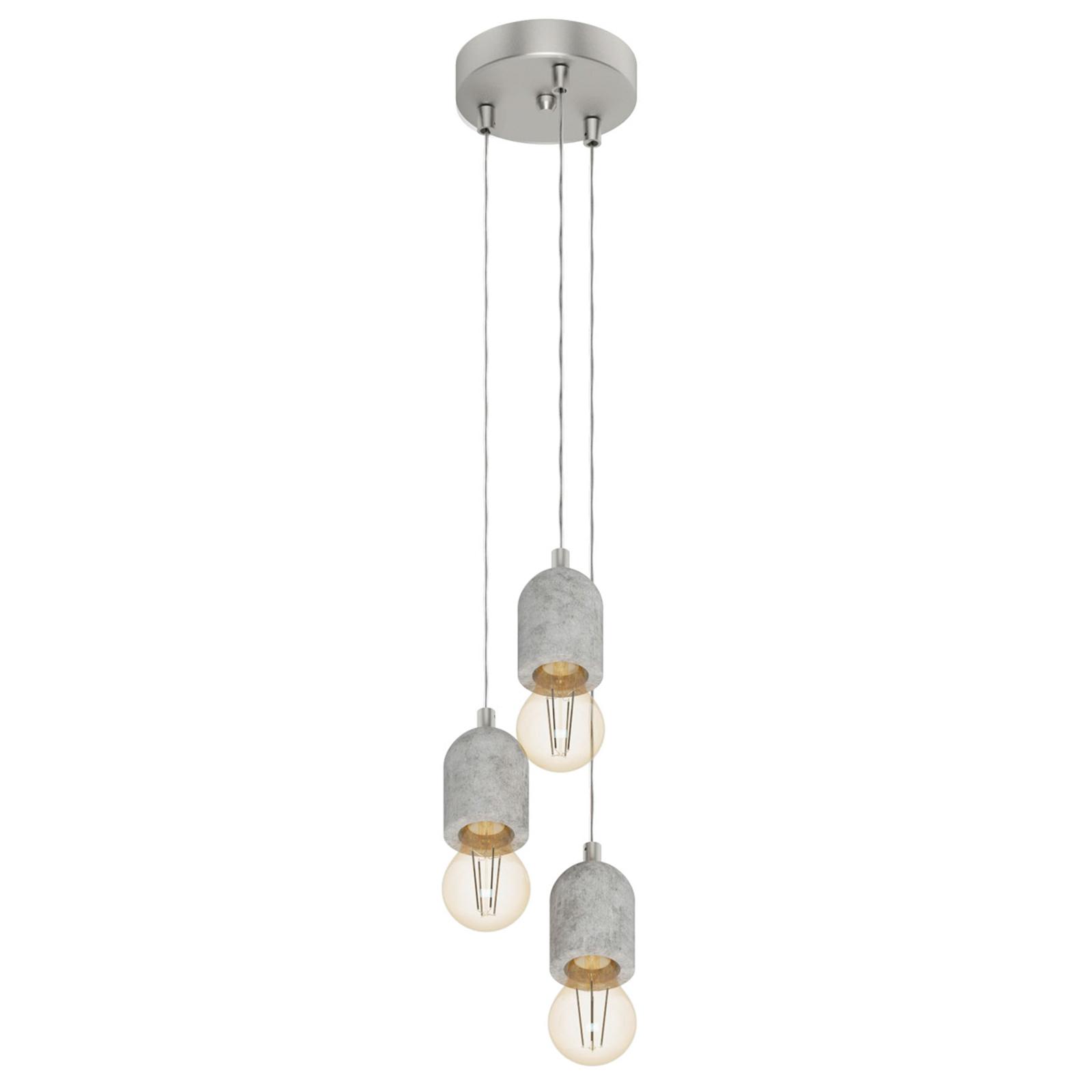 Minimalistyczna lampa wisząca Silvares