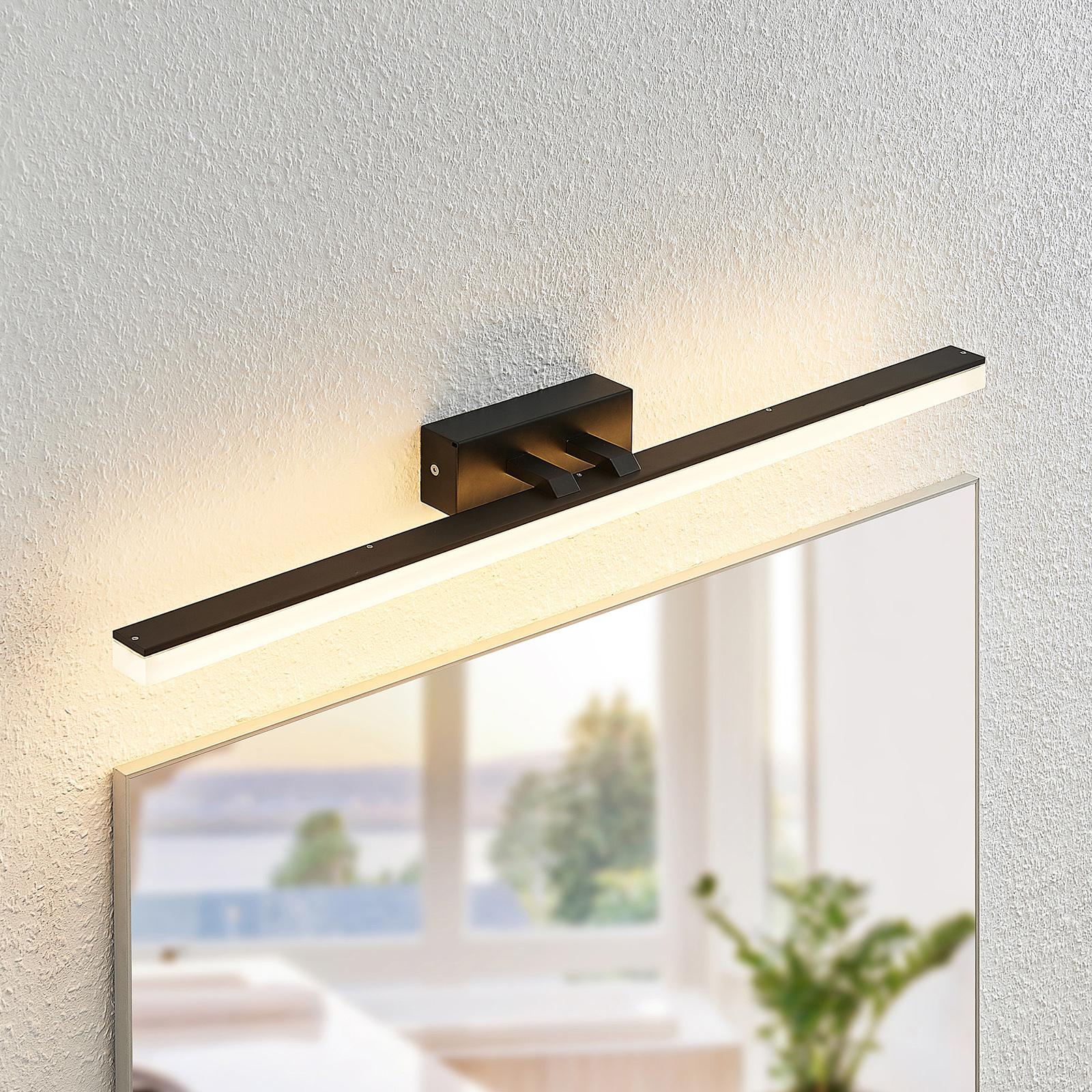 Lucande Lisana LED-Wandleuchte, IP44, 75 cm