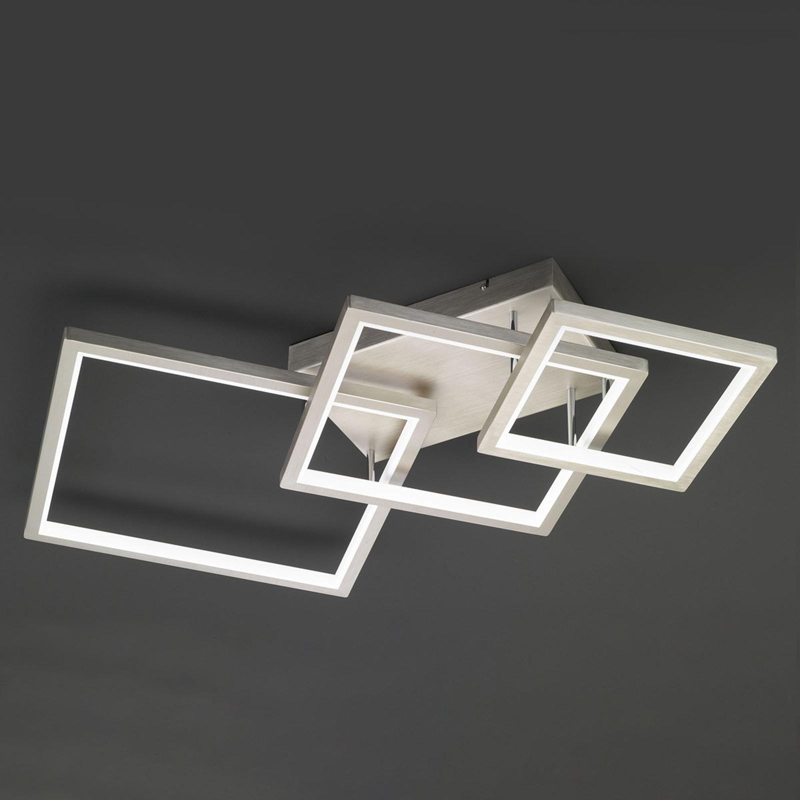 Dimbar via väggbrytare – LED-taklampa Viso