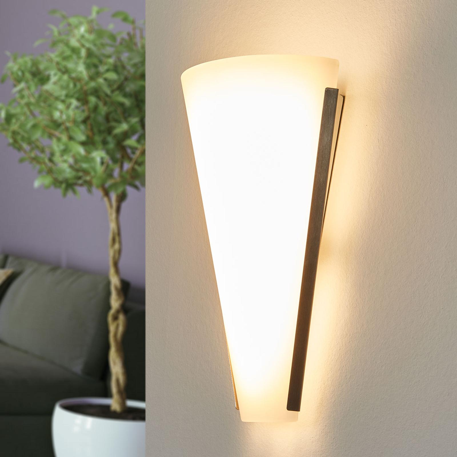Mooie wandlamp Luk met LEDs