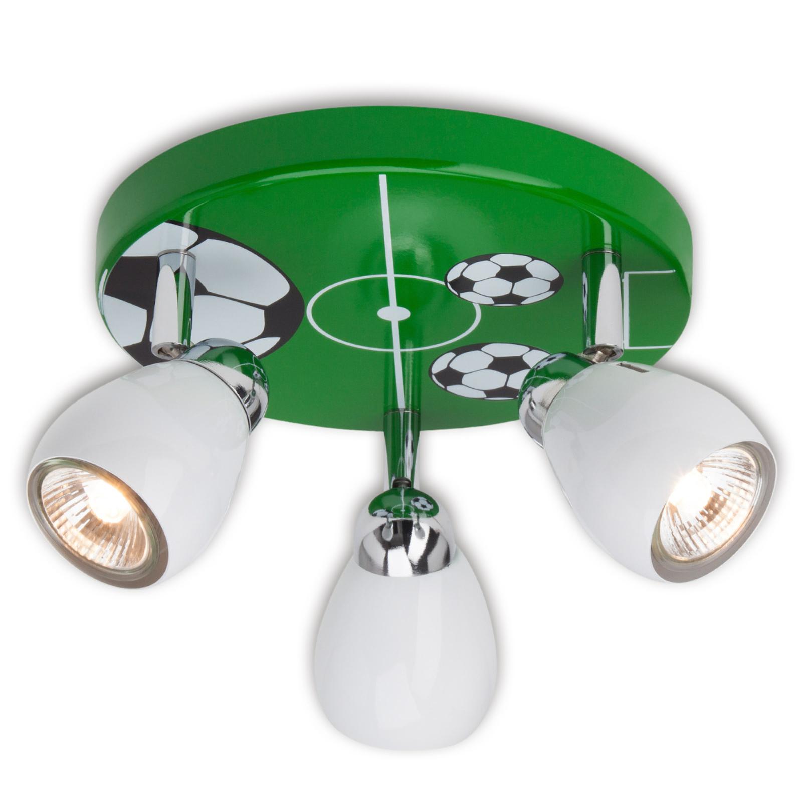 Soccer - taklampe for barnerommet