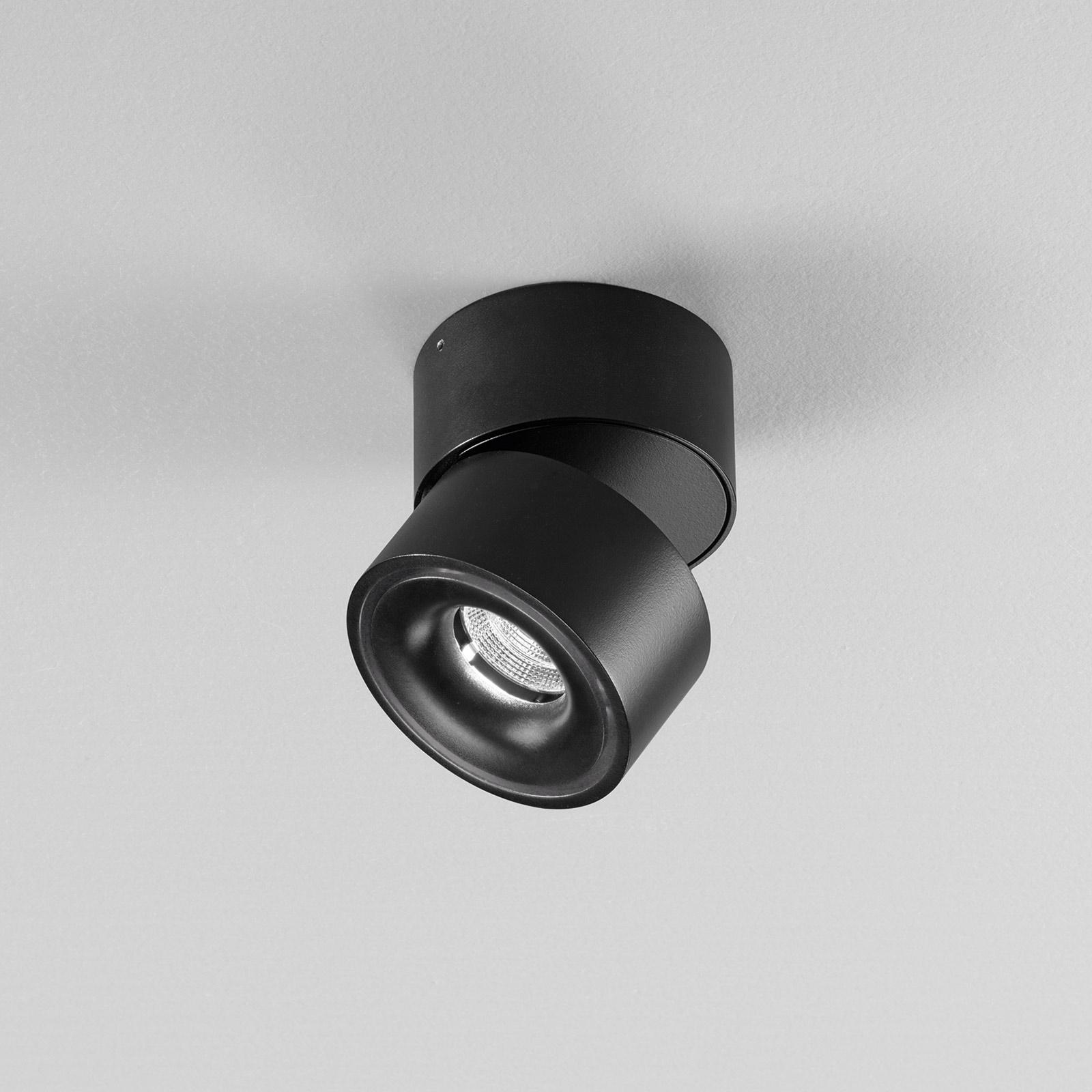 Egger Clippo LED-Deckenspot dim-to-warm schwarz