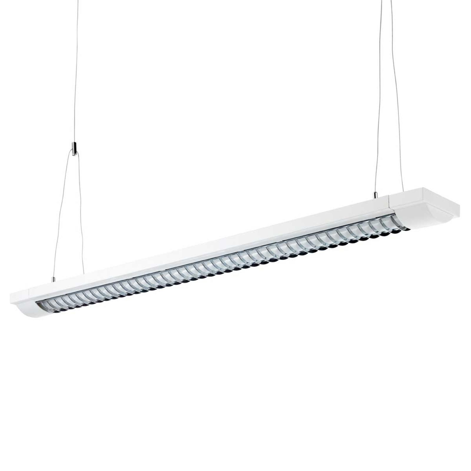 2-lichts rasterlamp lengte 155 cm