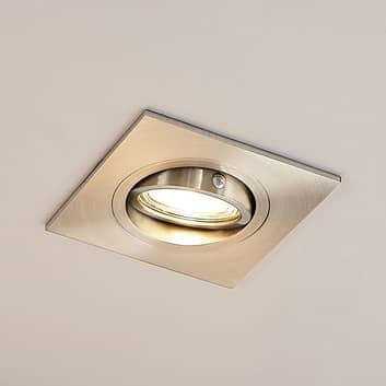 Lucande Arilena inbouwlamp, IP23, hoekig