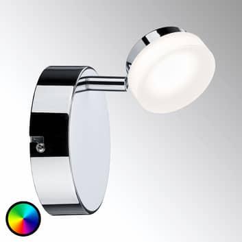 Paulmann Smart Friends LED-väggspot Iro, styrbar