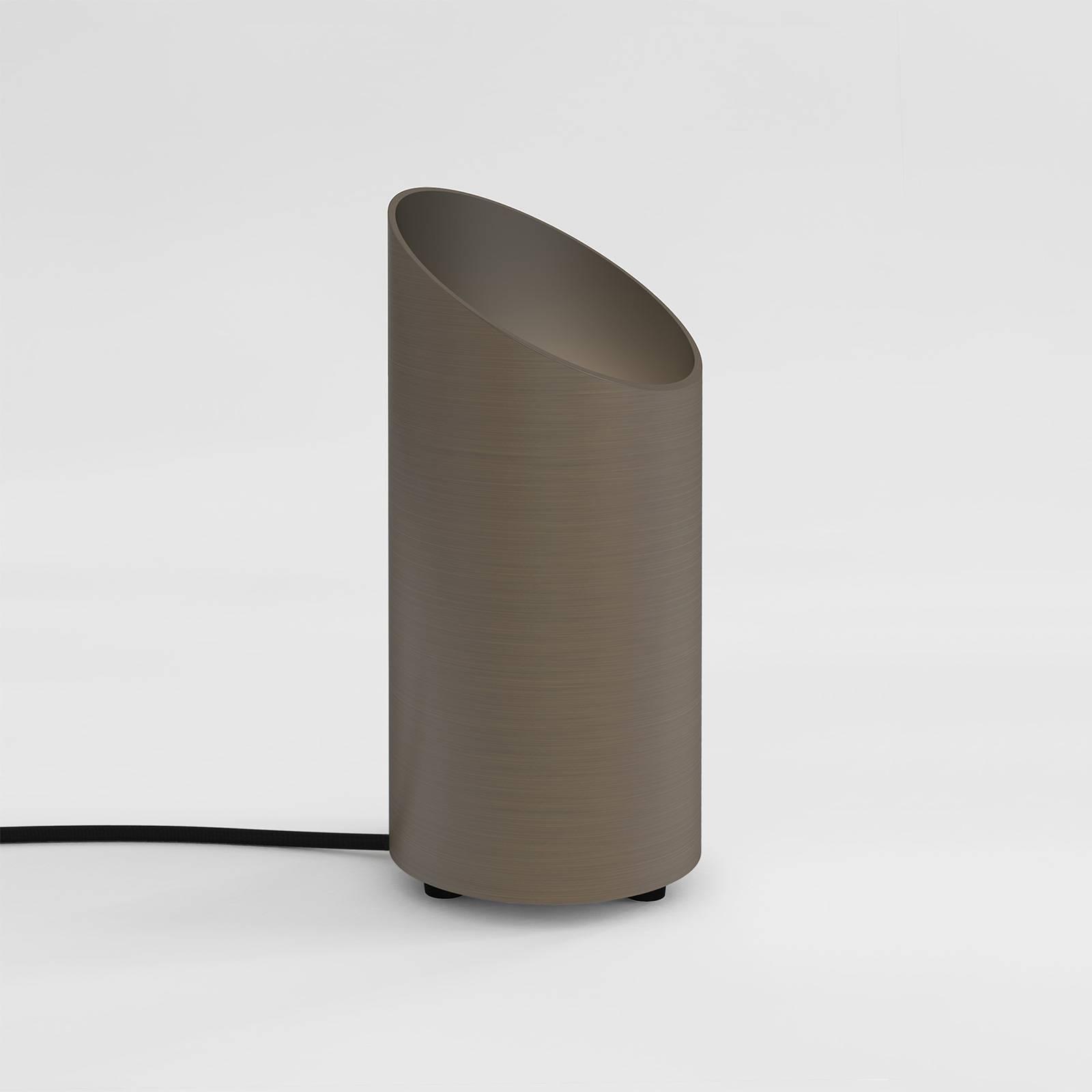 Astro Cut lampe à poser et lampadaire, nickel mat
