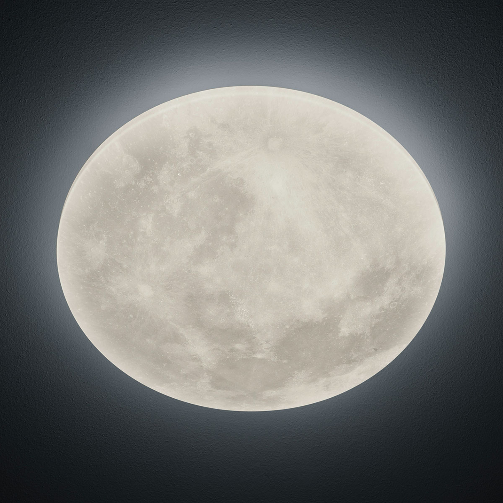 Lámpara LED de techo Lunar mando a distancia 40cm
