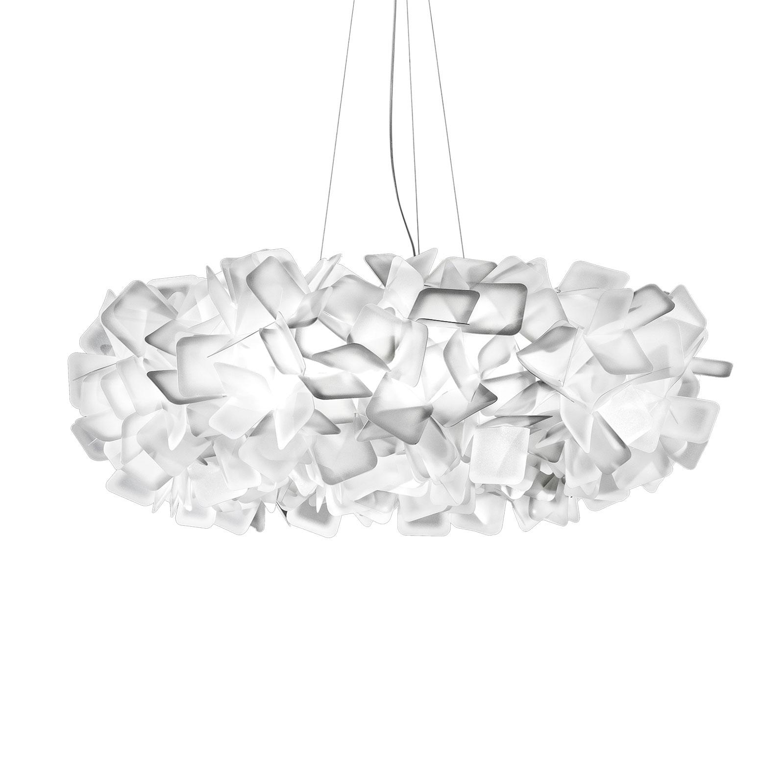 Slamp Clizia hanglamp, Ø 78 cm, wit