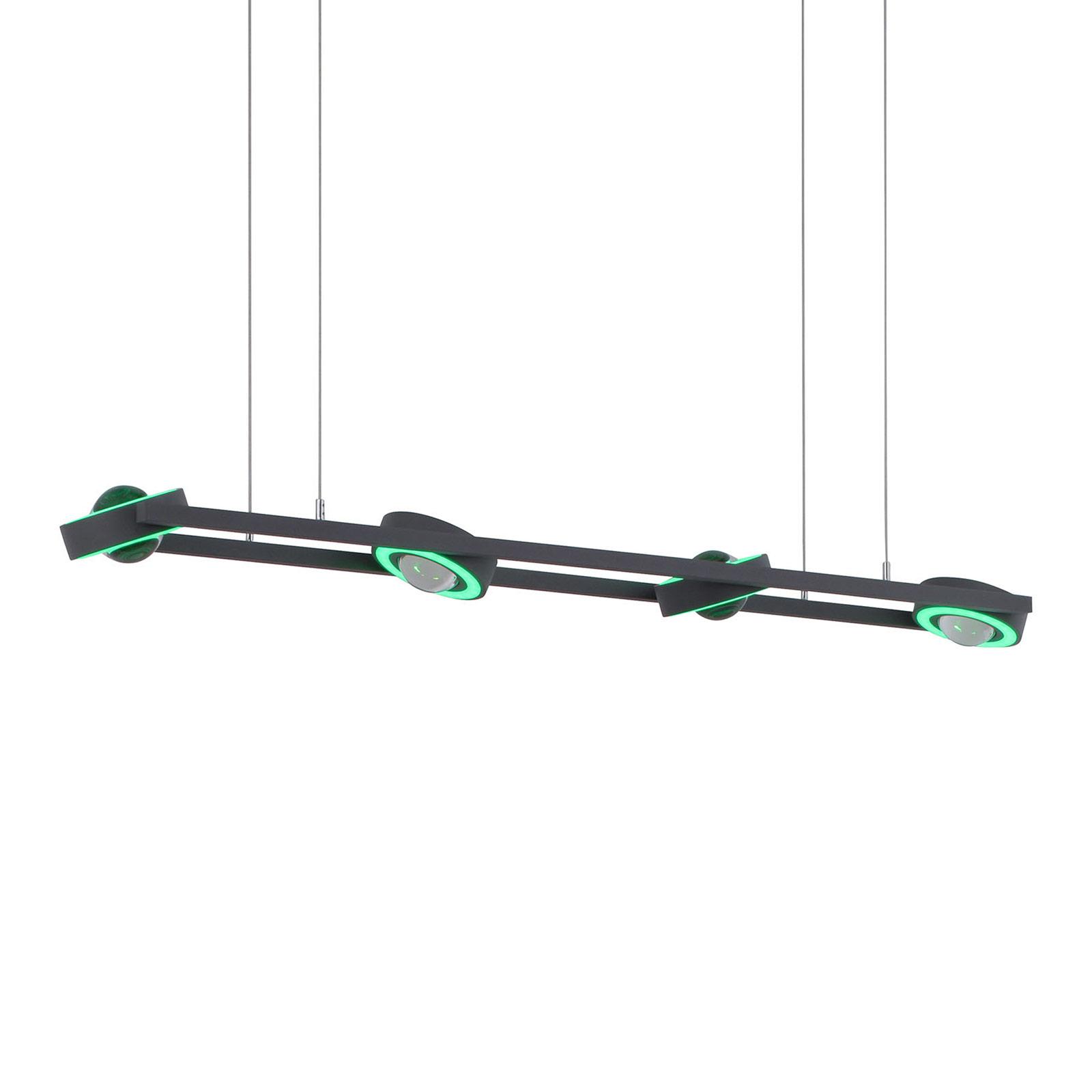 Paul Neuhaus Q-MIA LED hanglamp, antraciet