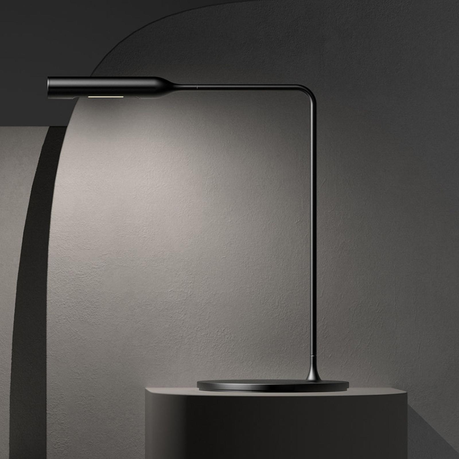 Lumina Flo Bedside lampada LED tavolo 3.000K nero
