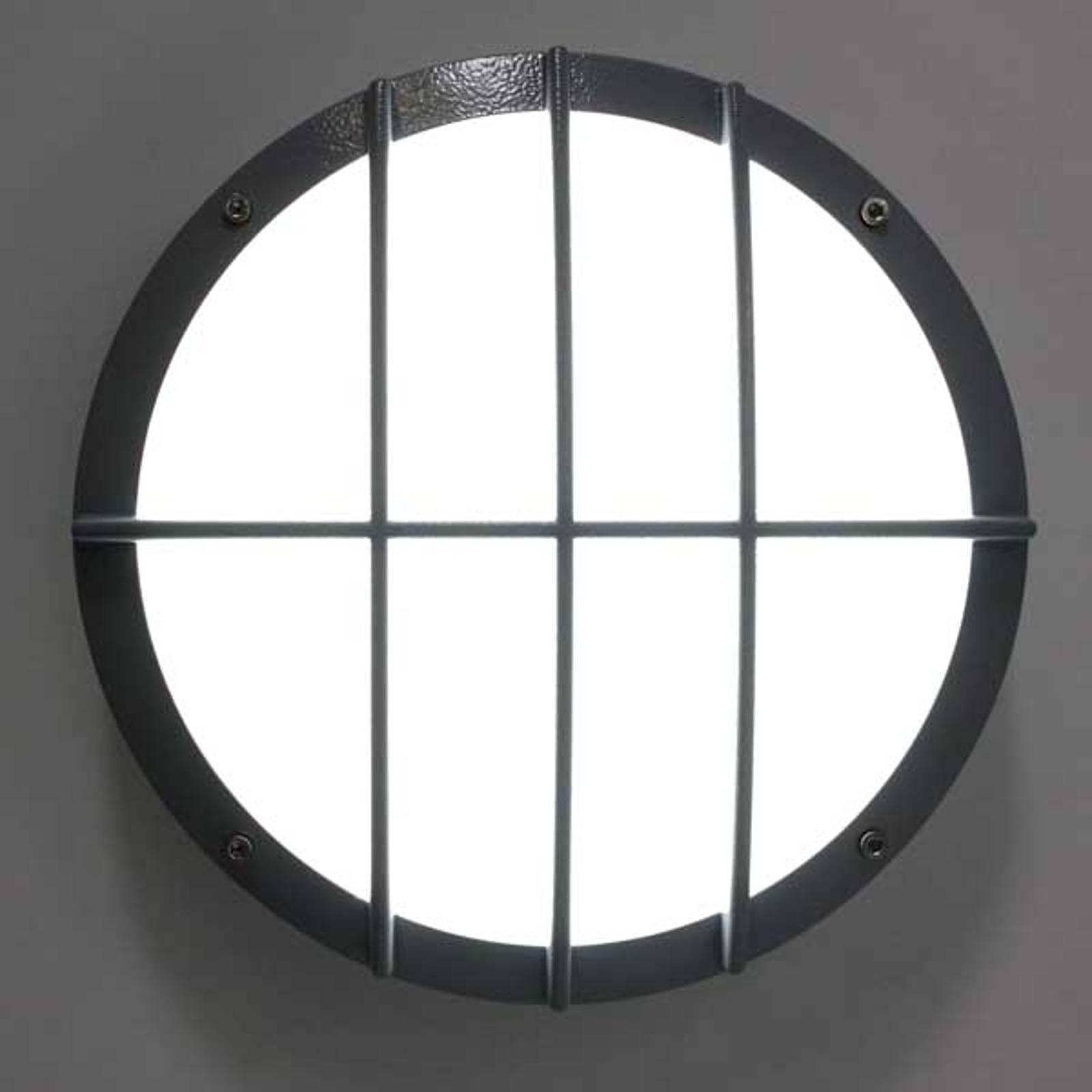 Wandlamp v aluminium spuitgietw SUN 8 LED 13W 4K