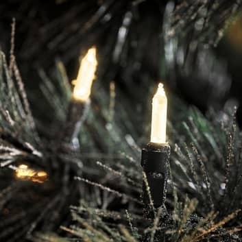 Venkovní světelný řetěz Elias s LED 200žár.