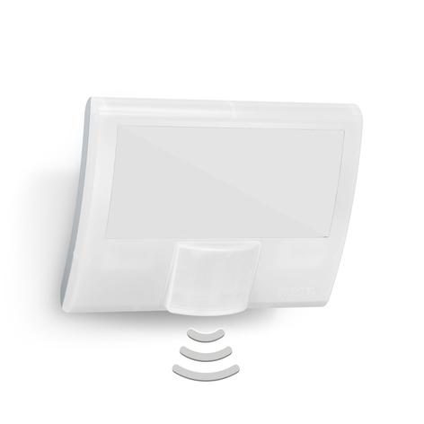 STEINEL XLED Curved sensor-utomhusvägglampa vit